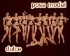 MODEL POSES 9