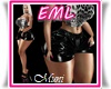 Bimbo EML Short PVC Dark