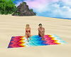 Beach Towel Friends Chat