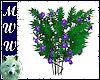 Flowers w/ Butterflies