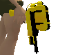 yellow & black soaker