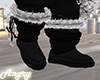 X4►Blac Boots Fur