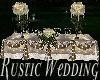 Rustic Wedding Recep.Tbl