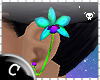 .C Glo Orchid Earring L