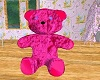 Hot Pink Furry Teddy