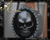 Silver Skull Bag