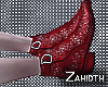 Red Sparkle Boots