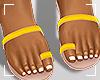 ṩJae Sandals Yellow