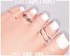 $K Cute Bare Feet