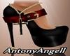 Sapato dama de ouro