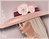 Floral Hat Pink