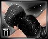 [CS] PVC Fuzzy Cuffs M