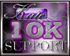 10k Support Sticker