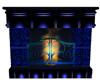 Blue Pvc Fireplace