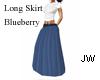 JW Long Skirt Blueberry