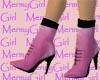 Pink Pleather Stilettos