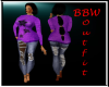 BBW Purple Winter set