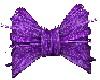 {BA69} Light purple bow