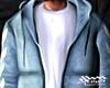 Blue Denim Hoodie