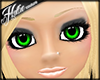 [Hot] Green Sparkle Eyes