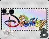 ~B~ Disney Logo Stamp