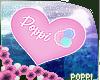 P+ Poppi's Support Sign