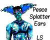 Peace Splatter Ears