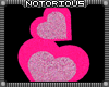 Stacked Pink Hearts