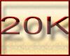 ! 20K Support Sticker