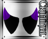 Purple Tipped Mini Horns