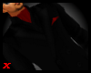 Jacket w/ Ascot-Red