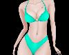 bikini cyan