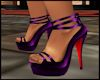 ~XAN~ PURPLE STRAPS HEEL