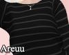 ₳/ Striped Sweatshirt