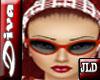JLD~Diva Glasses Red