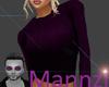 Cozy Sweater Purple