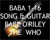 Baba O'Riley + Guitar