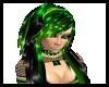 Violette-green/black-tox