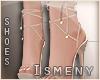 [Is] Deluxe Nude Sandals