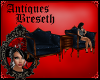 BS* Antique Blue Chairs