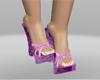 japanese purple sandals