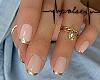 Pink&Gold+Rings   Nails