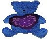 {BA69} Blue love bear