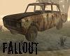 Fallout Trashed Car