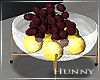 H. Modern Fruit Bowl