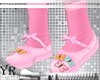 Kids Pink ButterflyShoes