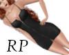 Black Jean Dress LG