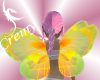 �C� Yellow Fairy Wings