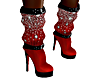 XMAS BOOTS RED