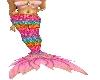 Mermaid outfit pink II
